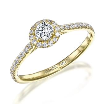 טבעת אירוסין RB307Y