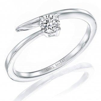 טבעת אירוסין סוליטר RA286W