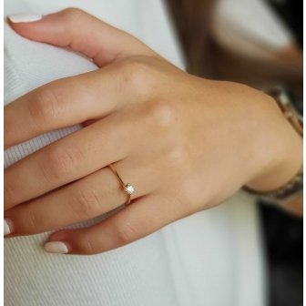 טבעת אירוסין יהלום RA380Y