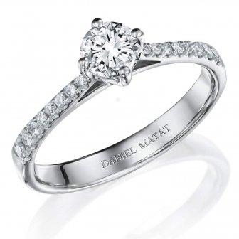 טבעת אירוסין RA420BW