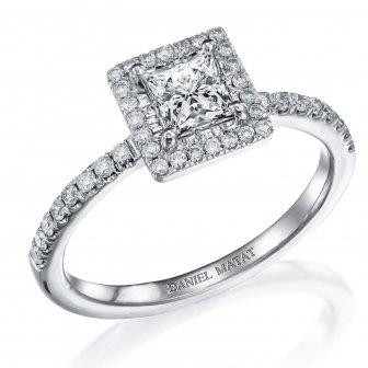 טבעת אירוסין דגם RB198W