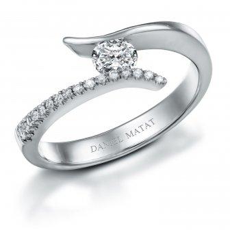 טבעת אירוסין RN166W
