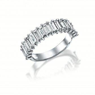 טבעת בגטים יהלומים