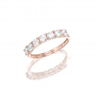 טבעת גלגל זרקונים GZ28