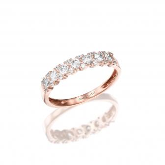 טבעת גלגל זרקונים GZ35