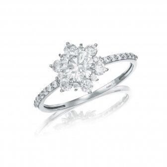 טבעת זרקונים  GZ76