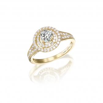 טבעת זרקונים GZ36