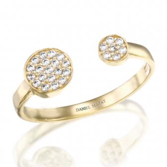 טבעת זרקונים GZ11