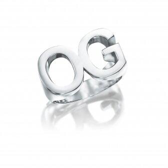 טבעת אותיות טווין - TWIN