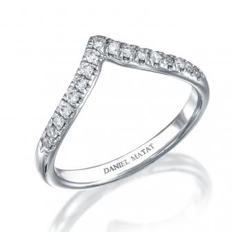 טבעת חץ יהלומים RX56