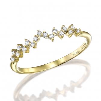 טבעת חצי נישואין RD207