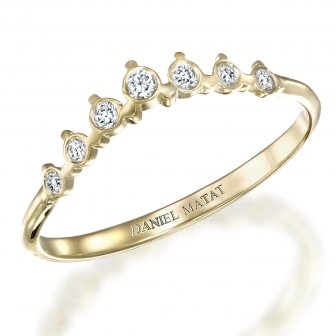 טבעת חצי נישואין B1
