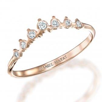 טבעת חצי נישואין RD206