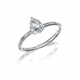 טבעת יהלום טיפה 1.00 קארט RA477