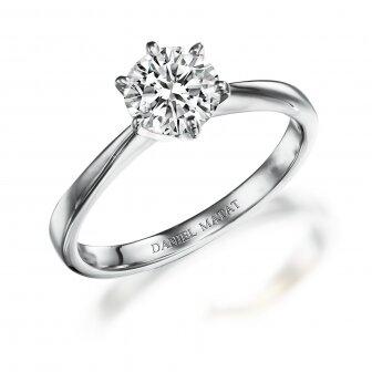 טבעת יהלום 1.00 קראט מעבדה RA156