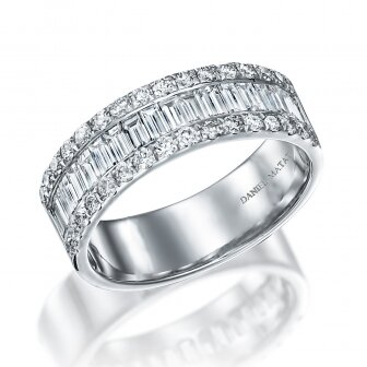 טבעת יהלומים בגטים RD244