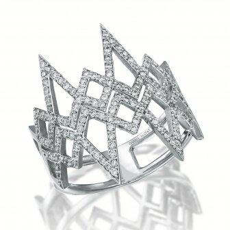 טבעת יהלומים ספרקלס