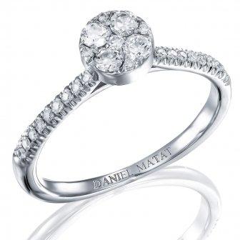 טבעת אירוסין דגם RA328A