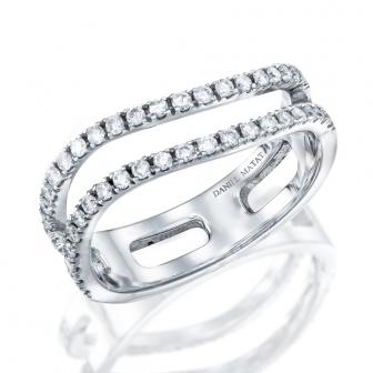 טבעת יהלומים RZ119