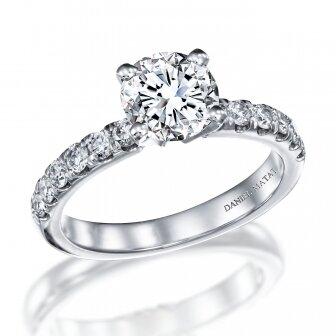 טבעת יהלומים 1 קראט מעבדה RA298