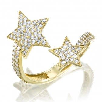 טבעת כוכבים GZ64