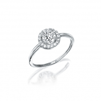 טבעת זרקונים GZ33