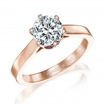 טבעת יהלום 1.00 קראט מעבדה RA343