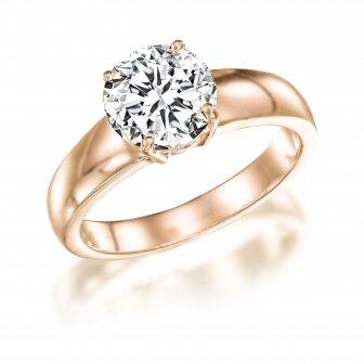 טבעת יהלום 1.00 קראט מעבדה RA79