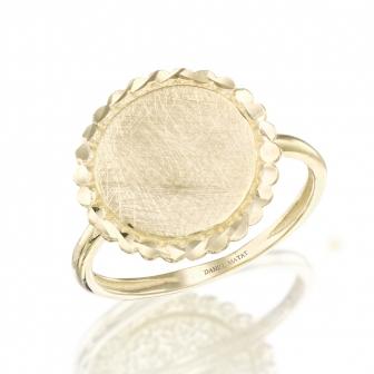 טבעת זהב GZ15