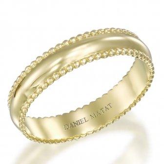 טבעת נישואין מילגרף כדורים