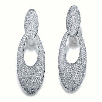 עגילי יהלומים TP489