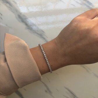 צמיד טניס 3.5 קארט יהלומים