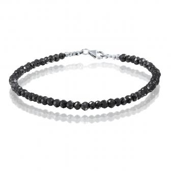 צמיד יהלומים שחורים 13.5 קארט