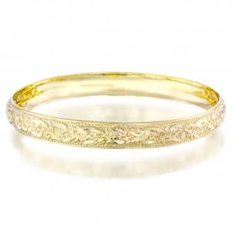צמיד מרוקאי זהב צהוב