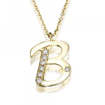 שרשרת B יהלומים