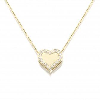 שררשת לב יהלומים P243