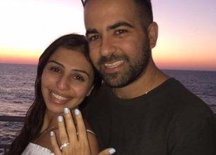 נדב ושרית בהצעת נישואין