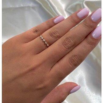 טבעת יהלומים RD211 רוז- ROS