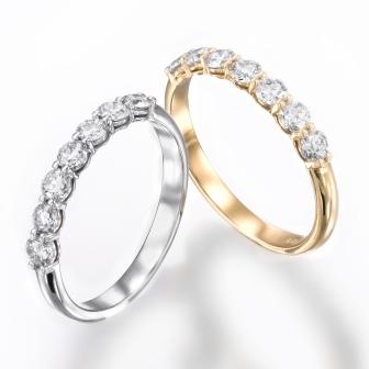 טבעת חצי נישואין RD175