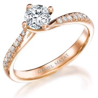 טבעת אירוסין יהלומים RA401B