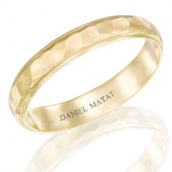 טבעת נישואין ריקועים מט