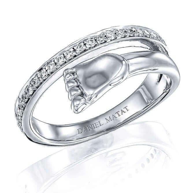 טבעת רגל יהלומים RZ118