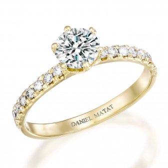 טבעת אירוסין יהלומים RB181