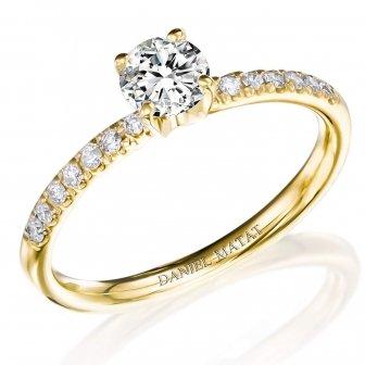 טבעת אירוסין יהלומים RA220BY
