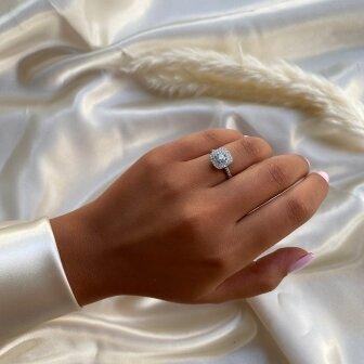 טבעת אירוסין RB221W