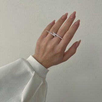 טבעת ברק יהלומים