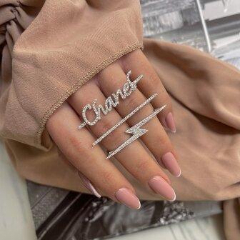 טבעת בראנד יהלומים