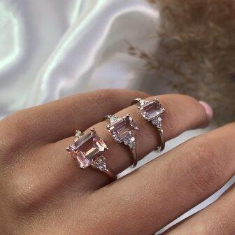 טבעת פינק 1.50 קארט- RB351