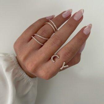 טבעת אותיות- טווין ספייס