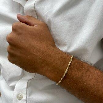 צמיד זהב לגבר BK8